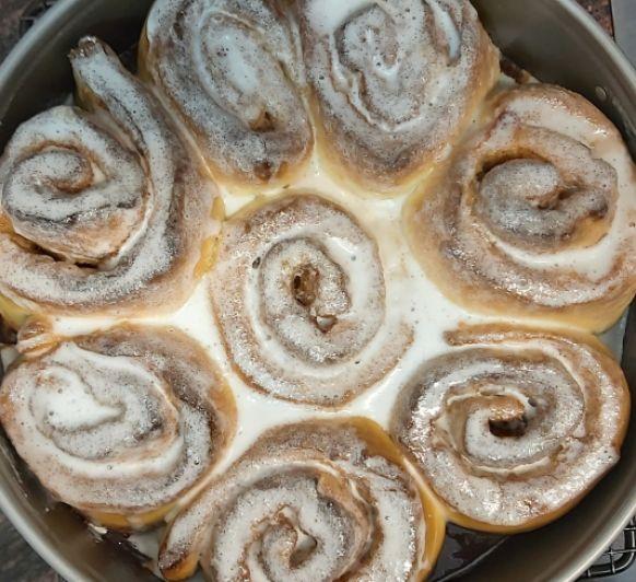 Rollitos de Canela (Cinnamon rolls)