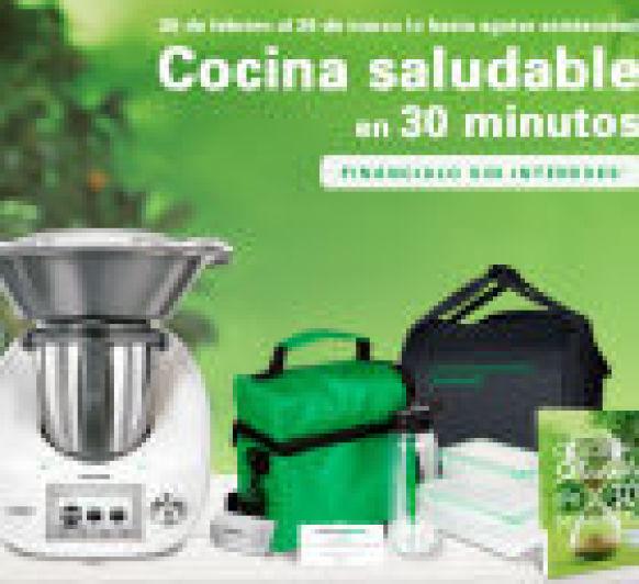 PROMOCION TM-5 COCINA SALUDABLE EN 30 MINUTOS