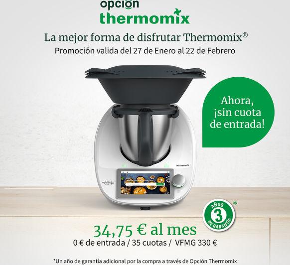 Thermomix® POR TAN SOLO 34'75 €