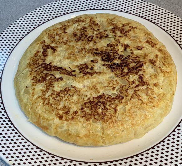 Tortilla de patatas Thermomix® TM6