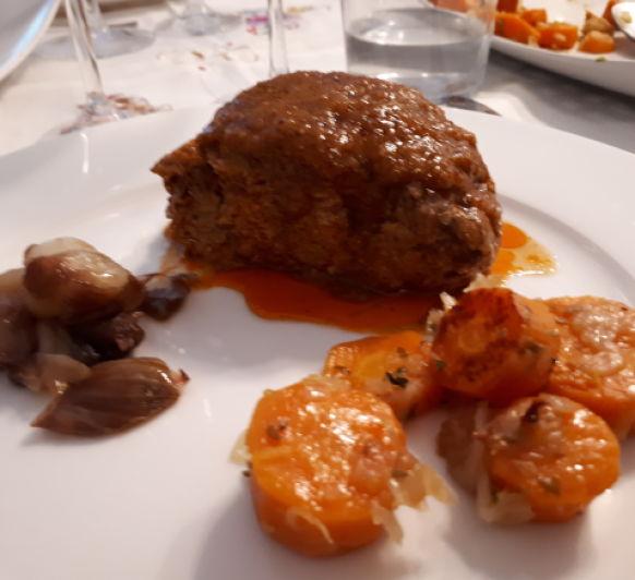 seitan con salsa agridulce