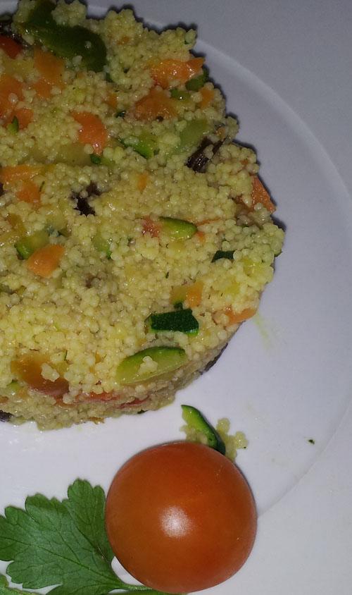 Cuscus de verduras con Thermomix®