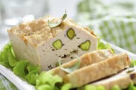 Fiambre de pollo con pistachos, con Thermomix®