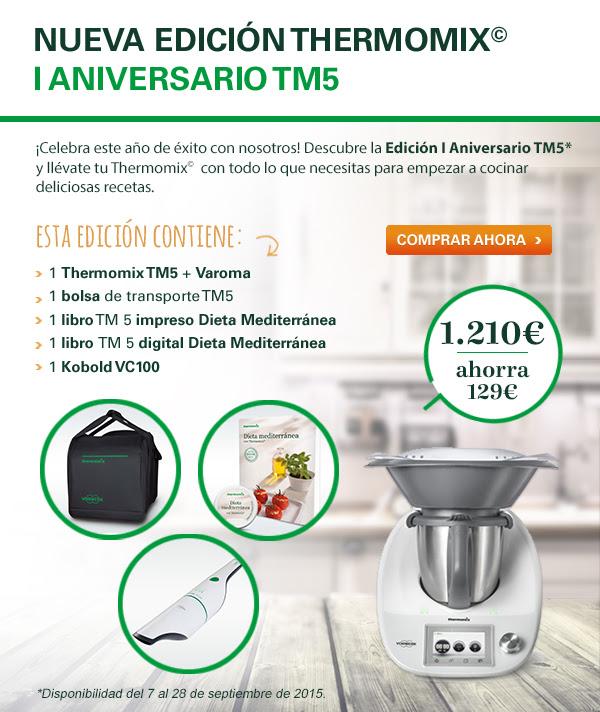 Thermomix® TM5 Cumple un año.