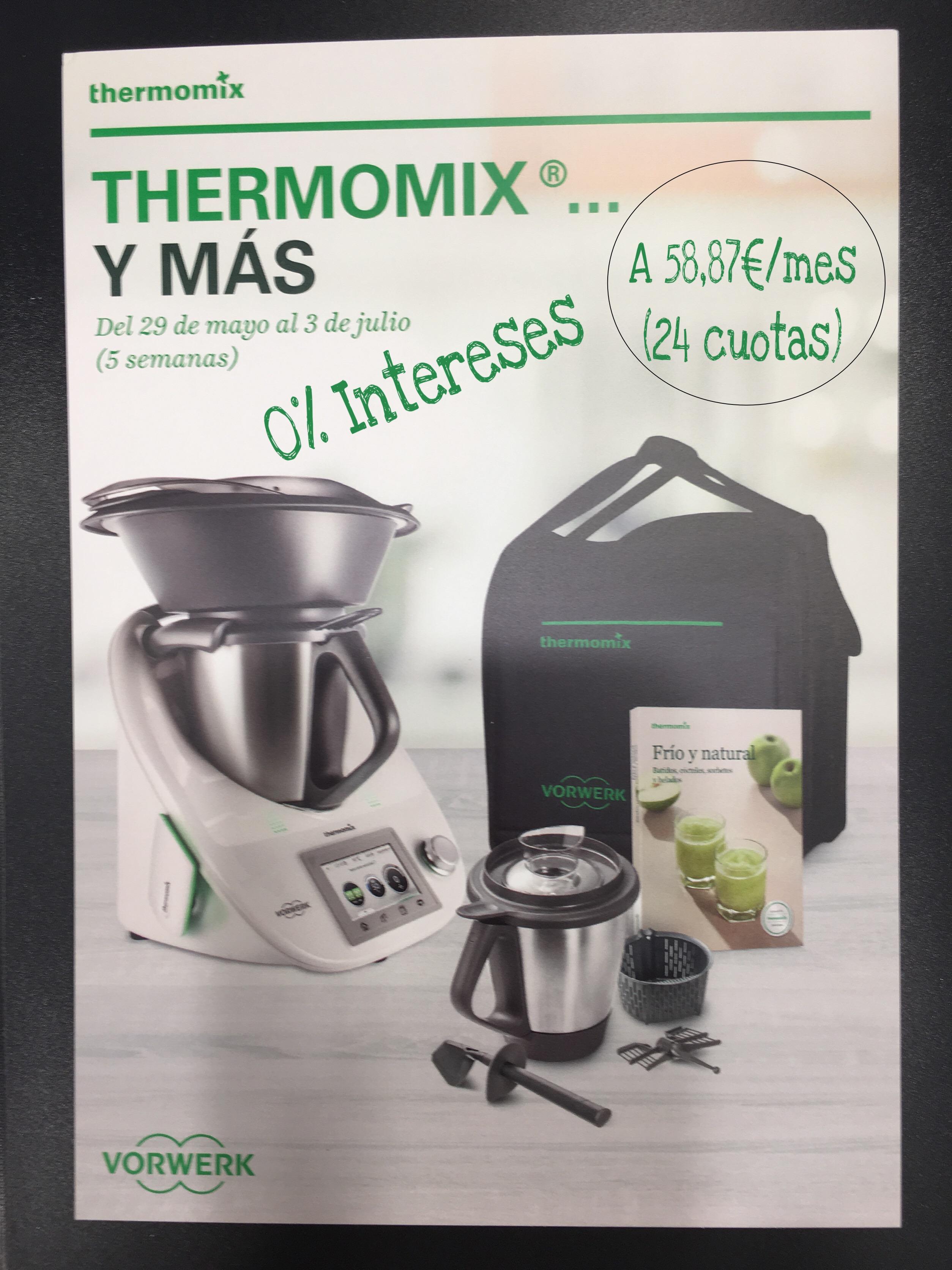PROMOCION Thermomix® ... Y MAS!!!!