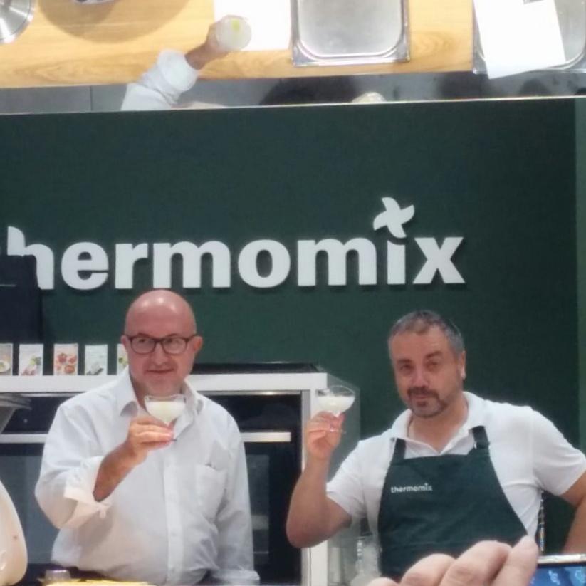 coCINE con Thermomix® . Masterclass de Película. con Sergi Mas.