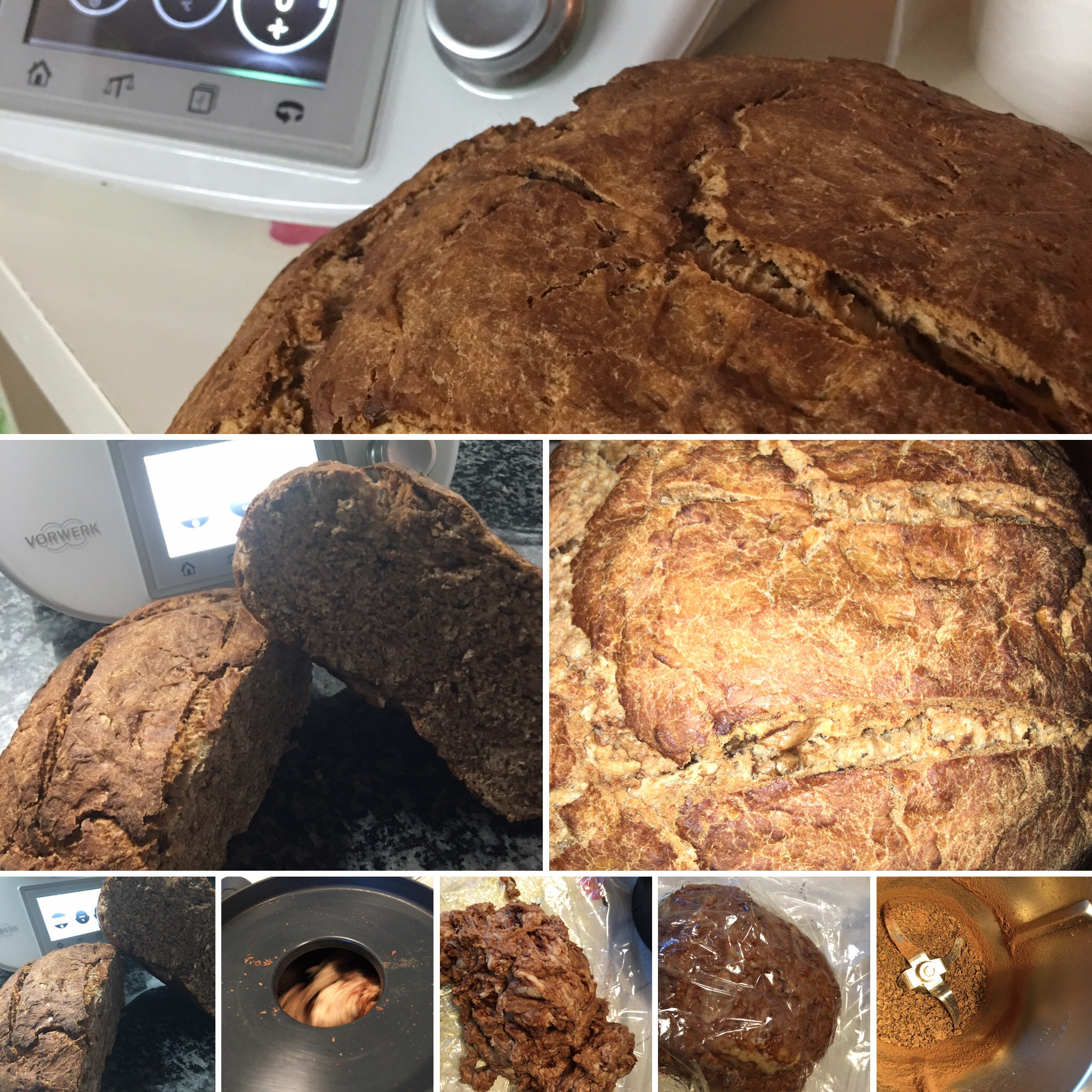PAN DE CHOCOLATE CON Thermomix®