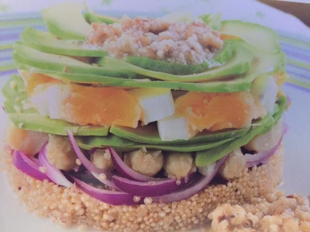 Ensalada de Quinoa con Vinagreta de Nueces