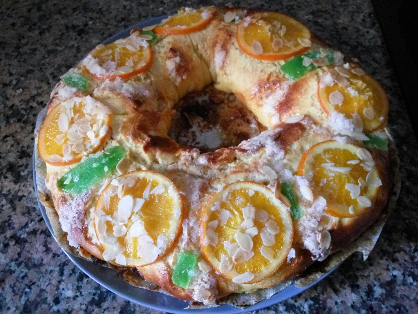 Roscón de Reyes relleno de mazapán con Thermomix®