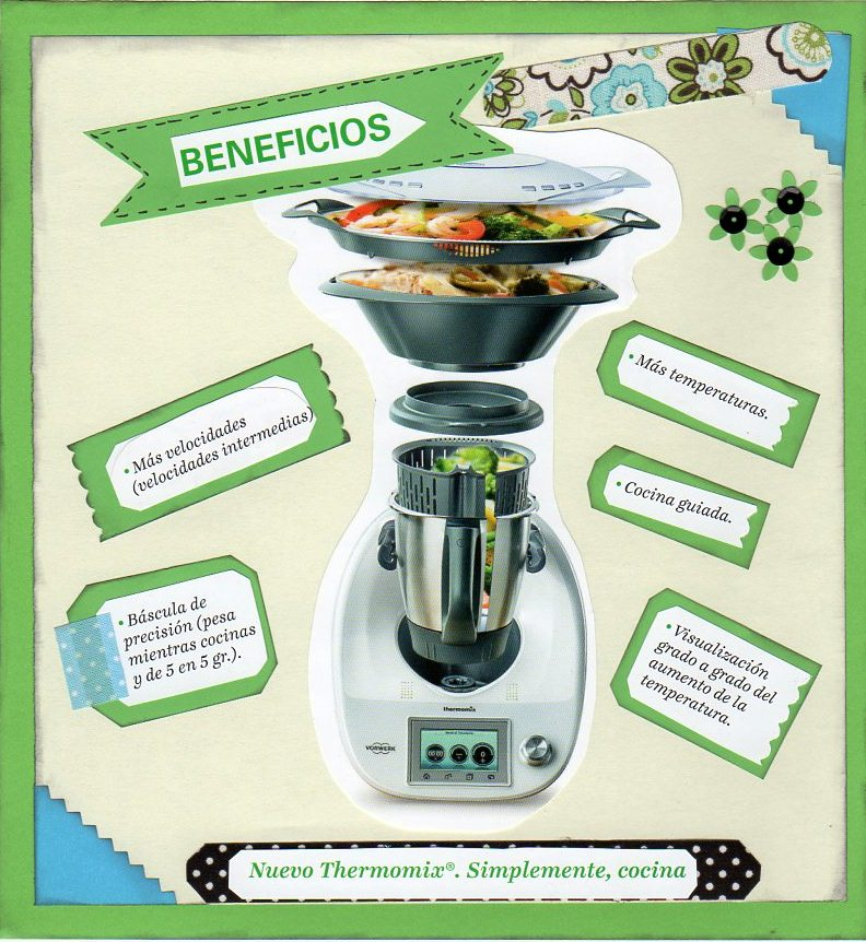 BENEFICIOS DE LA NUEVA Thermomix® TM-5