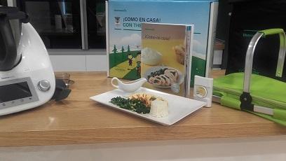 NUEVA EDICIÓN y receta de Pechuga de pollo con sobrasada, queso de Mahón y espinacas