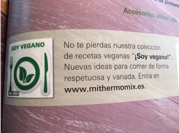 SOY VEGANO, NUEVA COLECCIÓN EN LA PLATAFORMA Thermomix® .