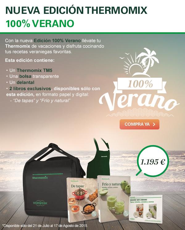 Promoción Verano 100% de Thermomix®