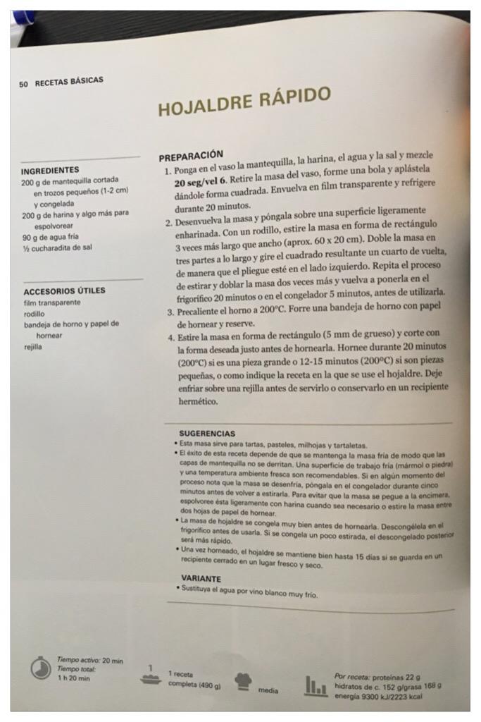 MINI TORTELES DE HOJALDRE RELLENOS DE NATA CON Thermomix®