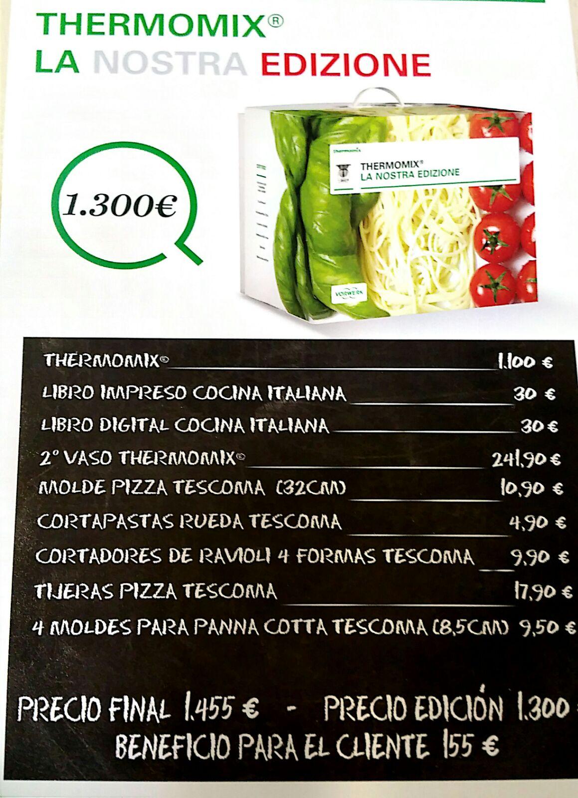 EDICION Thermomix® COCINA ITALIANA