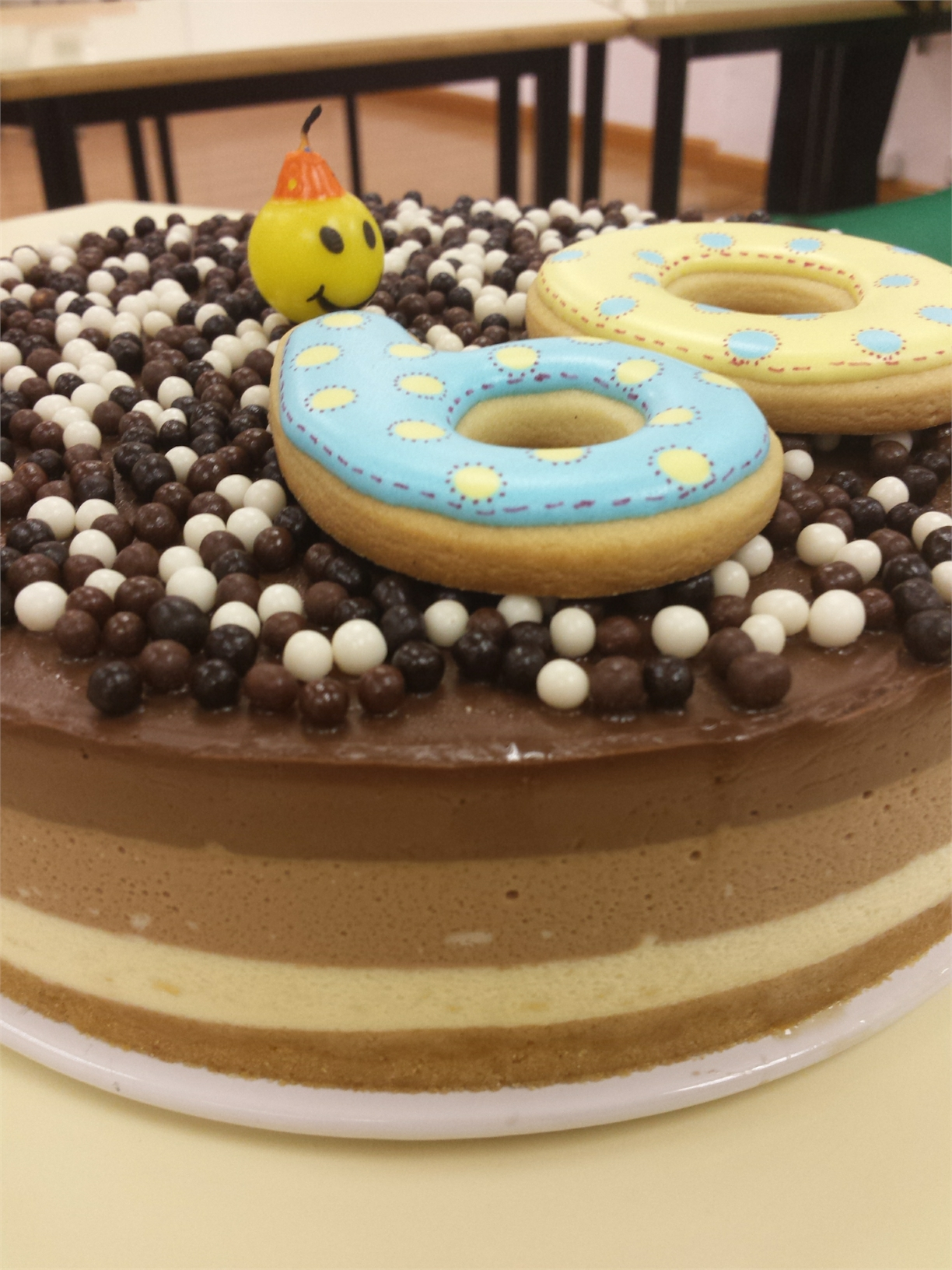 TARTA 3 CHOCOLATES CON Thermomix®
