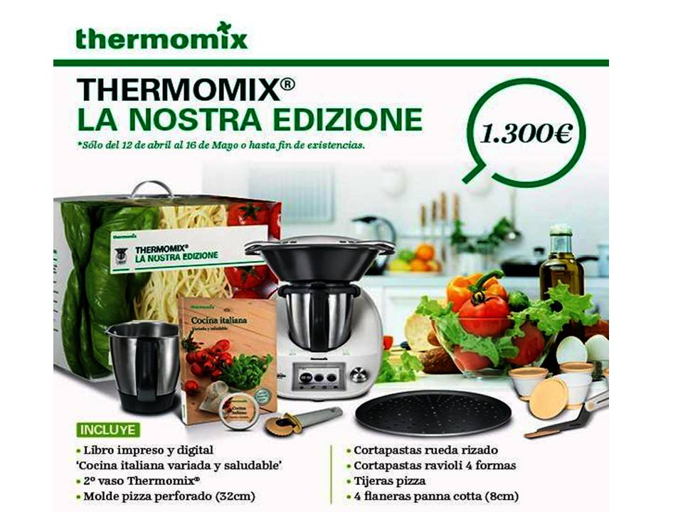 Taller de cocina italiana 6 5 2016 con thermomix noticias blog blog de mila moreno solsona - Thermomix del lidl precio ...