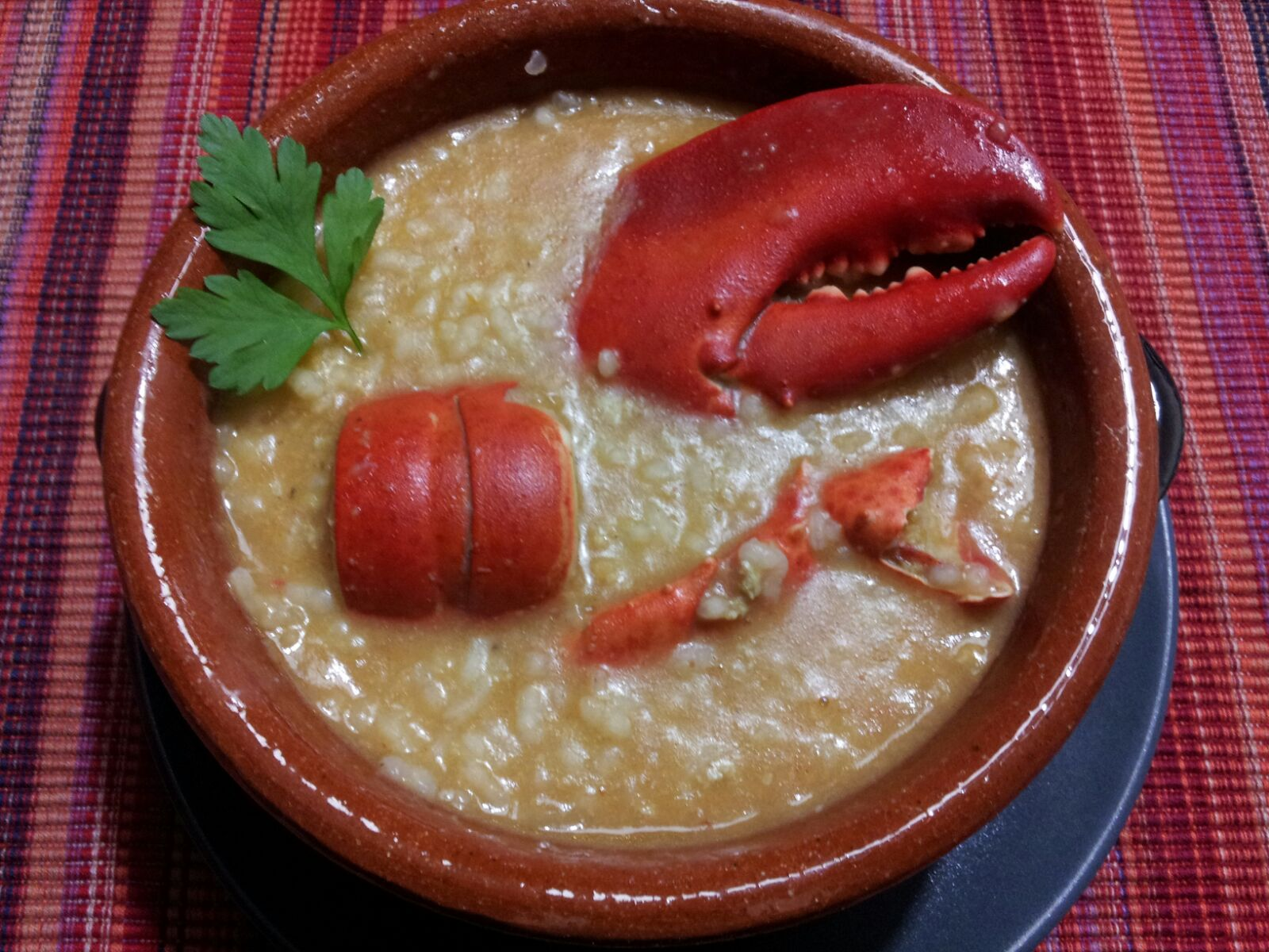 ARROZ CON BOGAVANTE EN Thermomix®