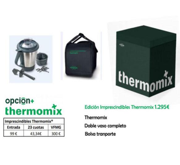 Edición Thermomix® con dos vasos