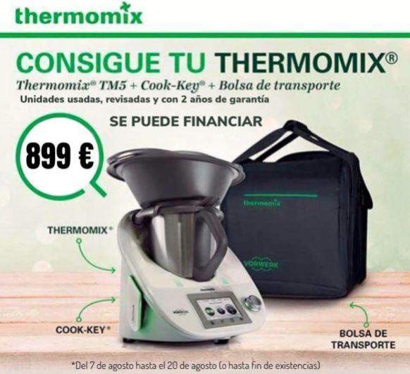 Gran oferta Thermomix® TM5 por 899€ - AGOTADAS