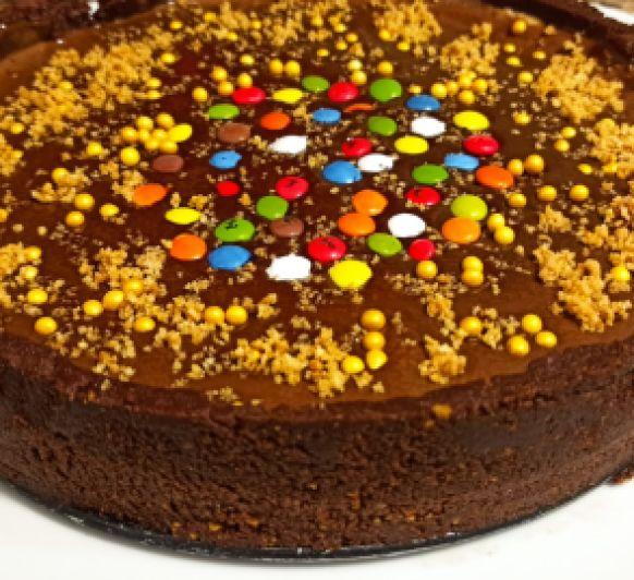 Tarta de chocolate y avellanas con Thermomix®