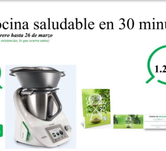 Prorrogada la edición ''Cocina saludable en 30 minutos''