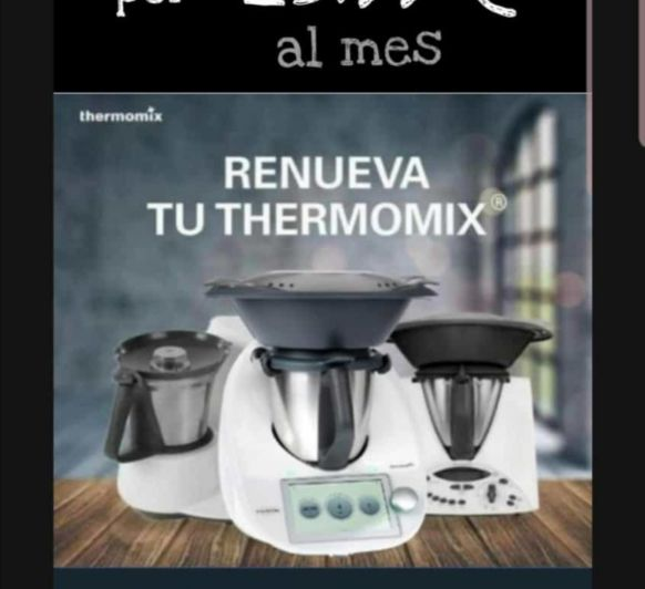 Plan Renove: descuento directo al comprar tu Thermomix®