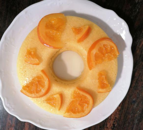 Y con el almíbar de las naranjas confitadas?