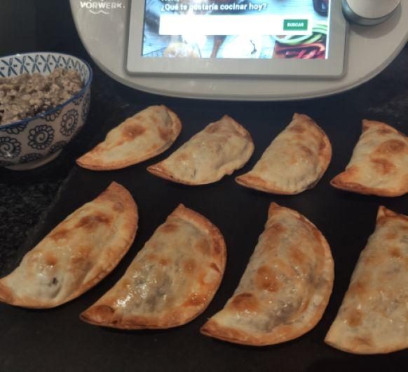 Empanadillas vegetarianas de berenjena y tofu