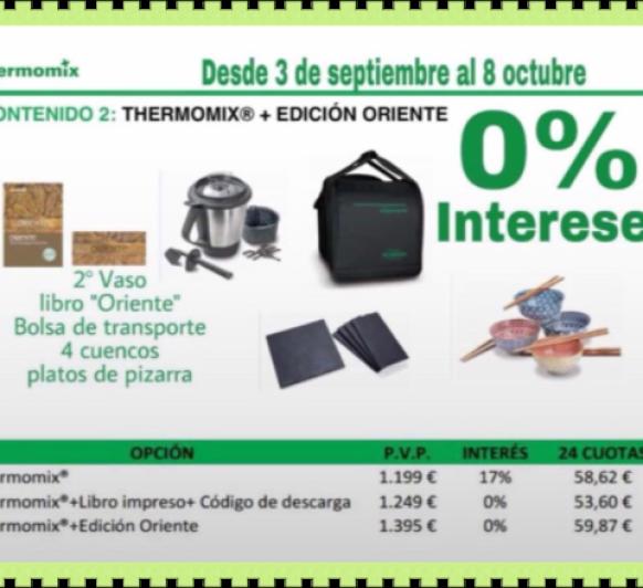 Thermomix® EDICIÓ ORIENT Amb 0% de interès
