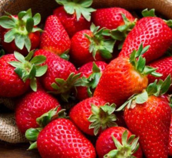 Batido de fresas (Cena en Pineda)
