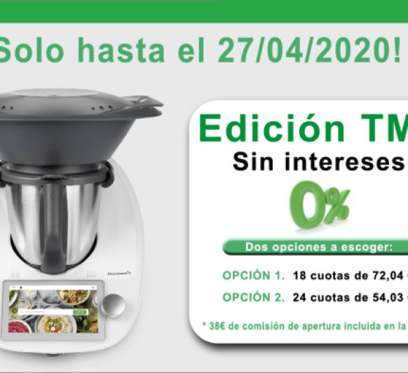 0% INTERES Thermomix® TM6