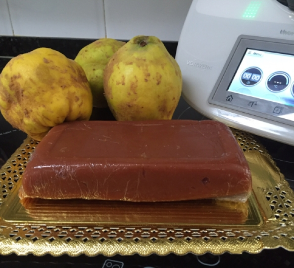 DULCE DE MEMBRILLO CON Thermomix®