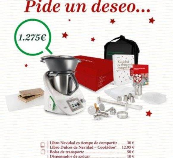 Gran oferta Thermomix® : edición Navidad, compra con opción plus
