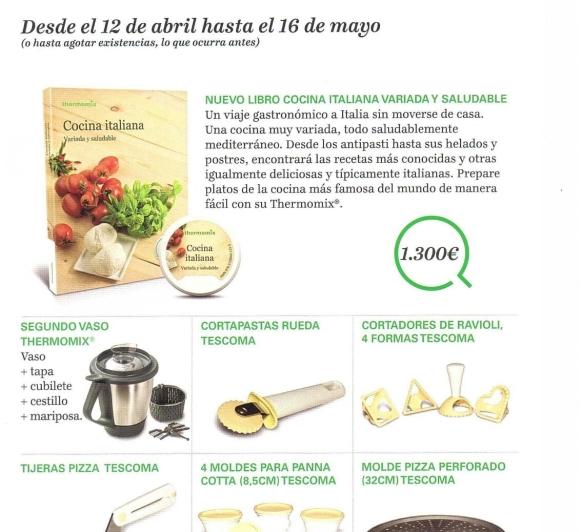 Edición Thermomix® con sabor a ITALIA!!!!!