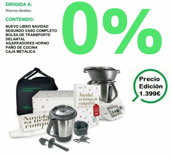 Thermomix® con una financiación de 0%