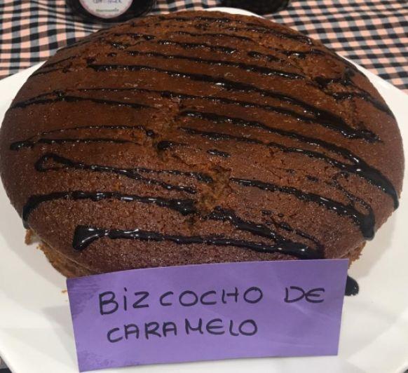 BIZCOCHO DE CARAMELO