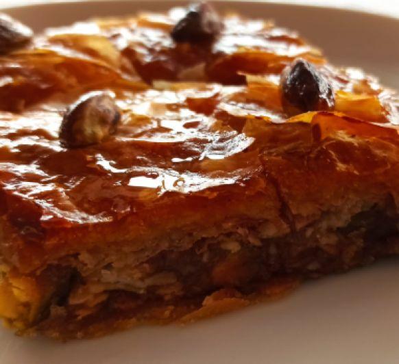 Pastelitos de miel libaneses con Thermomix® (Baklavas)