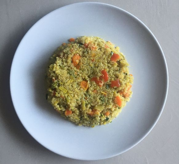 Quinoa con Verduras con Thermomix®