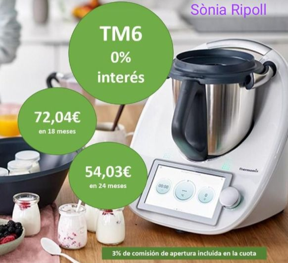 Thermomix® TM6 financiado más barato que nunca!