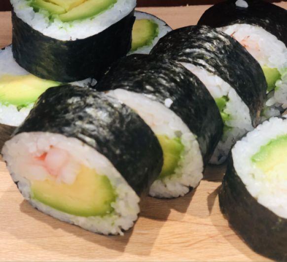 Ebi Avocado Maki