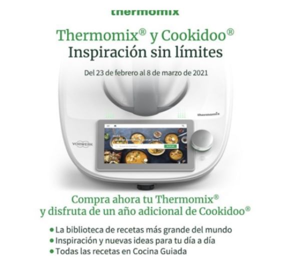 Thermomix® + 18 meses de COOKIDOO