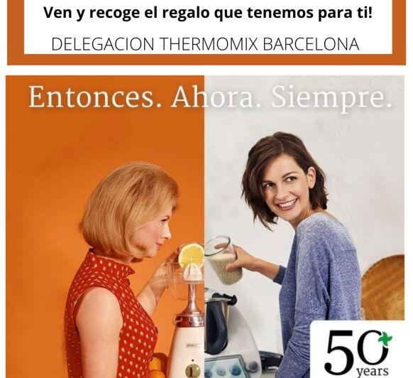 CELEBRA CON NOSOTROS EL 50 ANIVERSARIO DE Thermomix® !!