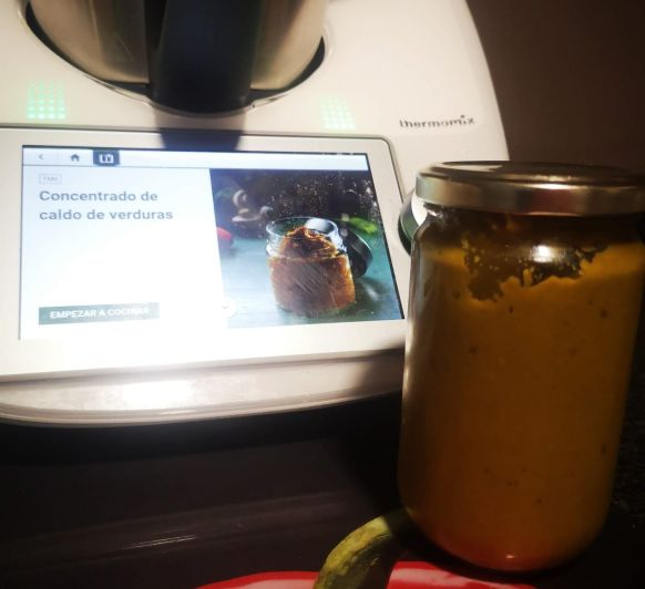 concentrado de verduras