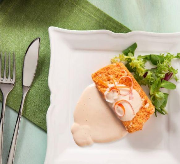 Puding o pastel de pescado en 7 minutos con Thermomix®