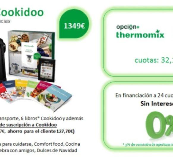 La mejor oferta de Thermomix® : TM6 0% interés, con 3 años de suscripción a Cookidoo