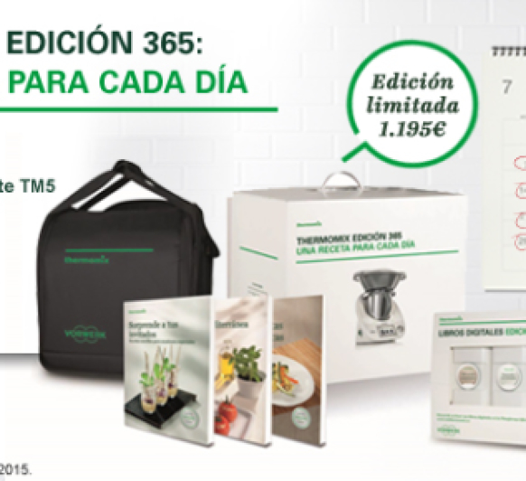 PROMOCIÓN Thermomix® EDICION 365 (ABRIL-MAYO)