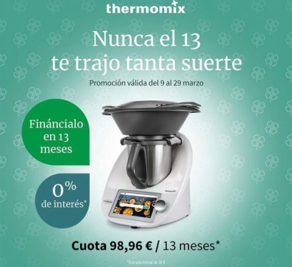 COMPRA Thermomix® SIN INTERESES!!!