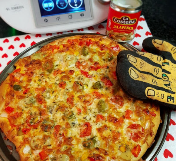 PIZZA MEXICANA EN Thermomix®
