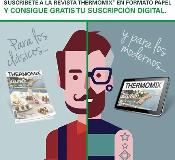 ¡La Suscripción a la revista Thermomix® , tiene premio!